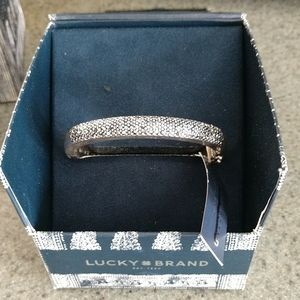Lucky Brand Gift Boxed Silver Toned Bracelet